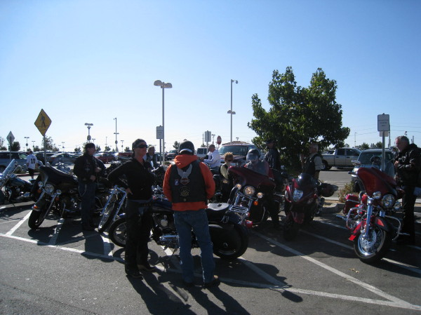 2008 NM Breakfast ride 131m